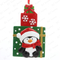 Gifts Box With Penguin Personalized Christmas Tree Ornament