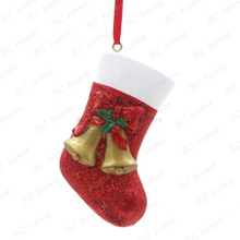 Bells With Sock Ornament Personalized Christmas Tree Ornament