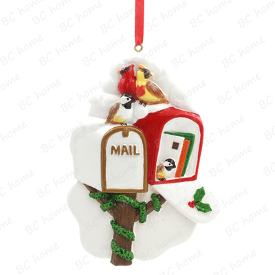 Mail Box Ornament Personalized Christmas Tree Ornament