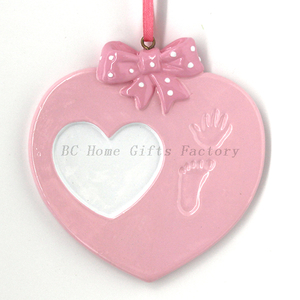 Heart Ornament Personalized Christmas Tree Ornament
