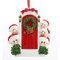 Snowman With Door Family Of 6 Personalized Christmas Tree Ornament
