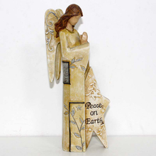Religious Angel Of Peace On Earth Figurine