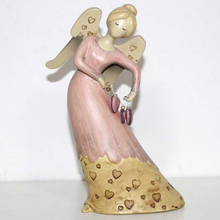 Wing Angel Dancing With Bell figurine