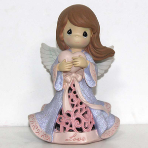 Hotsale Flash Blue Fairy Angel Resin Craft