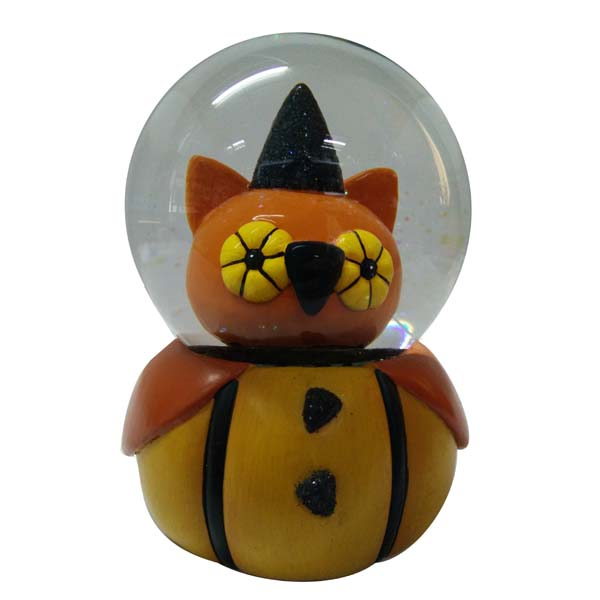 Owl Hallowmas snow ball