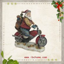Resin electric vehicle,Santa claus mounts,christmas tree ornaments