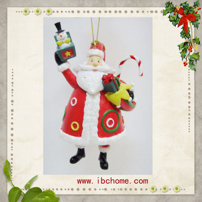 3D Santa claus ornaments,christmas tree ornaments