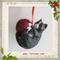 Black Cat Christmas tree hanging ornament