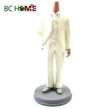 Wedding dress bobble heads
